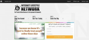 Internet-Lifestyle-Network-landing-page