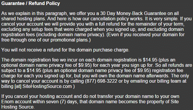 Facebook-fortune-site-hosting-source-refund-policy