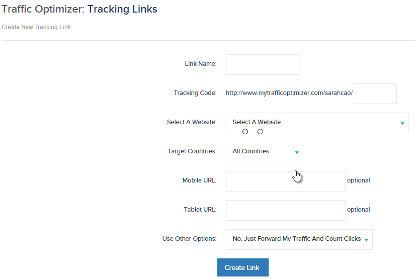 traffic-authority-tracking-links