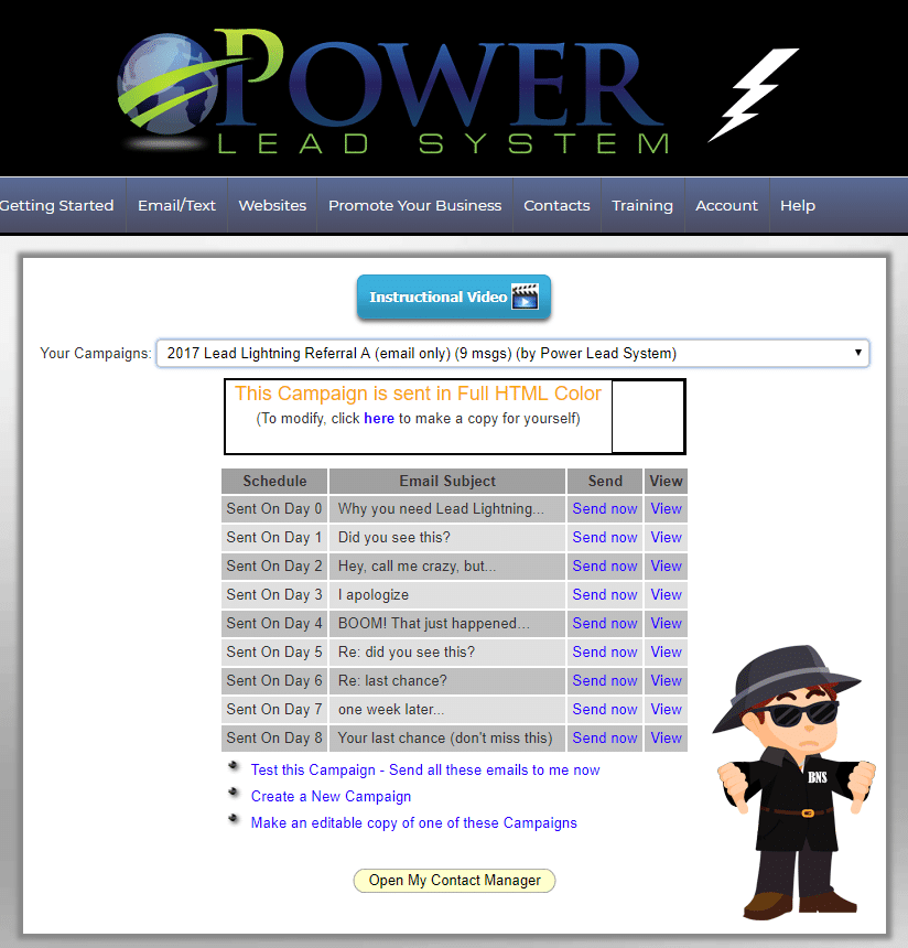 Power Lead System Scam - Poor User Interface