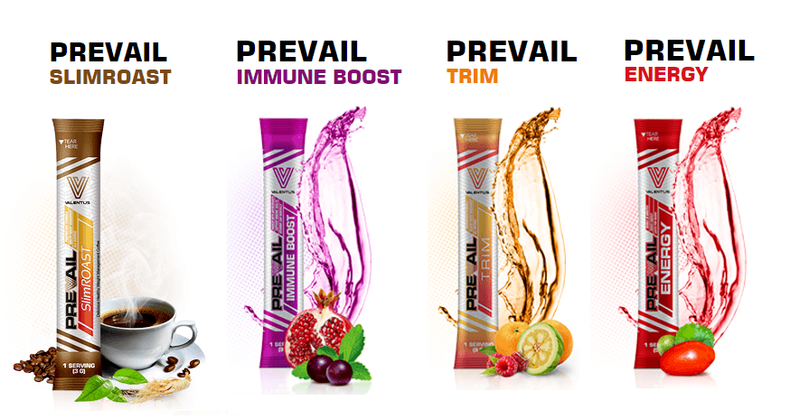 Valentus-prevail-product-line