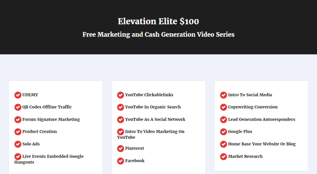 Easy-1-Up-Elevation-Elite-Free-Marketing-and-Cash-Generation-Video-Series