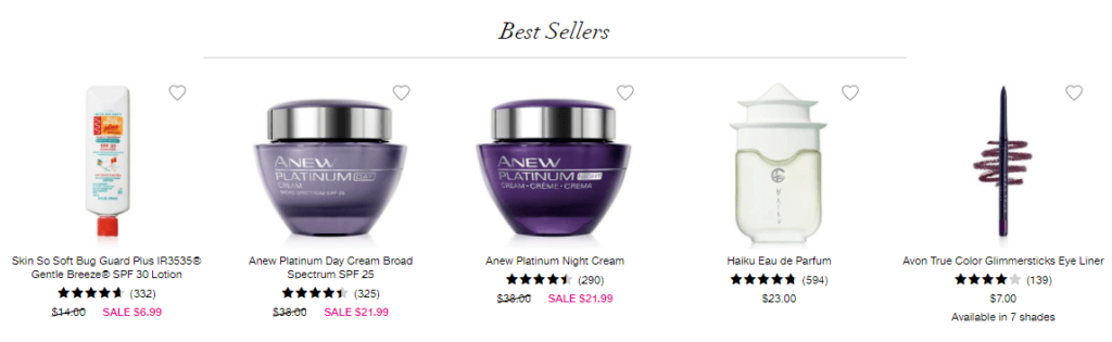 Avon-best-sellers
