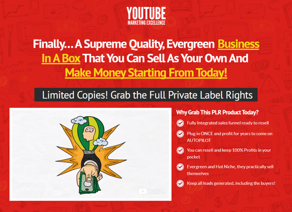Yoonla-plr-youtube-marketing-excellence-real