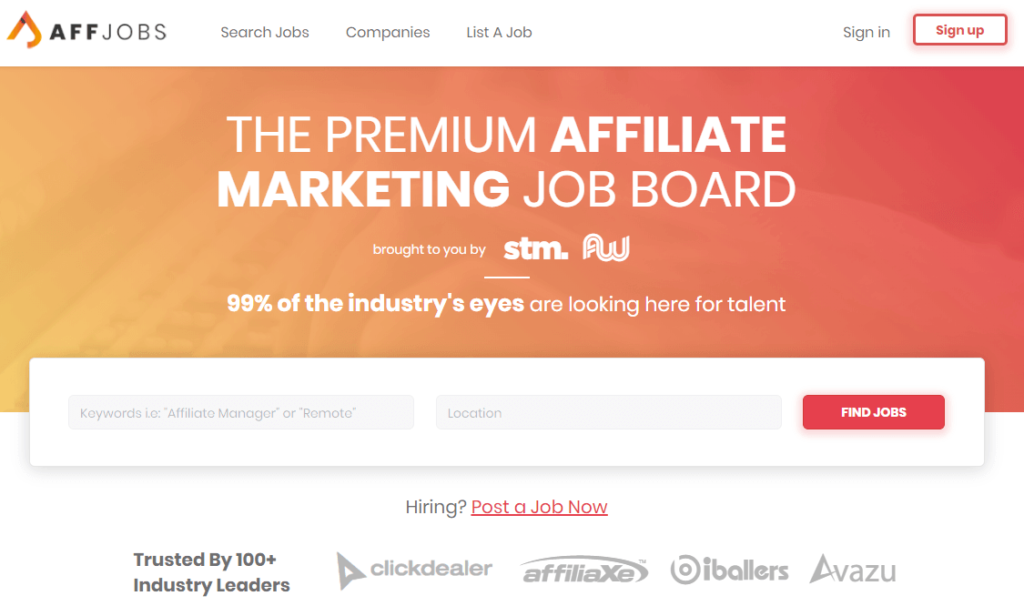 Stack That Money Review - Affiliate Job Board