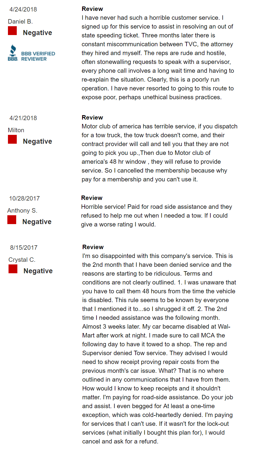 MCA-Service-Negative-Reviews