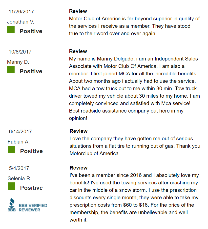 MCA-Service-Positive-Reviews