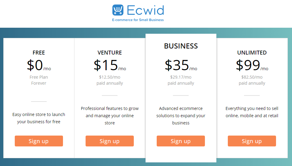 Best Recurring Affiliate Programs - Ecwid