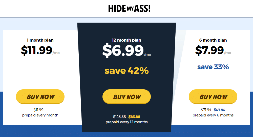 Best Recurring Affiliate Programs - Hide My Ass