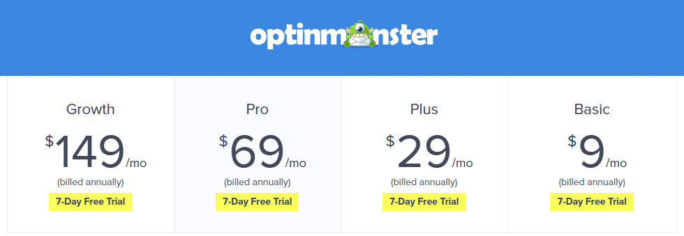 Best Recurring Affiliate Programs - OptinMonster