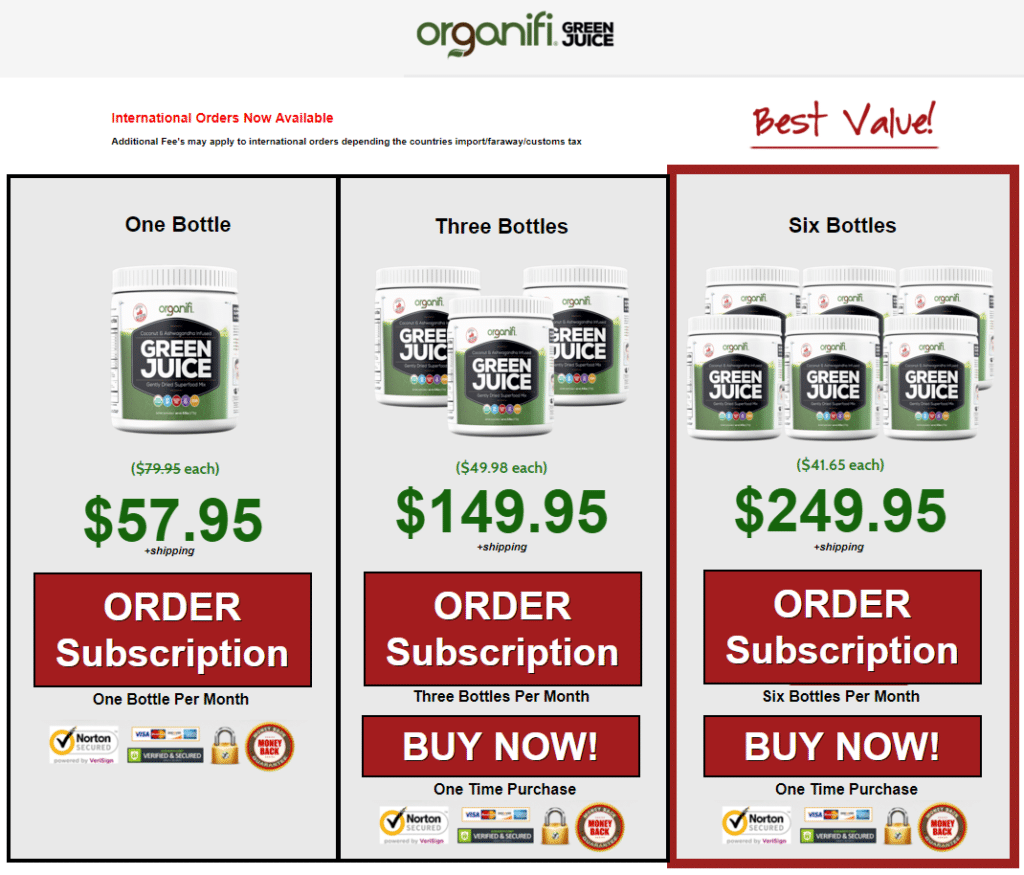 Best Recurring Affiliate Programs - Organifi