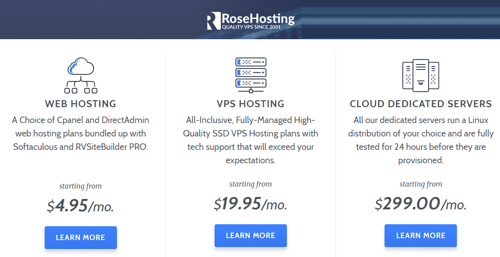 Best Recurring Affiliate Programs - Rose Hosting