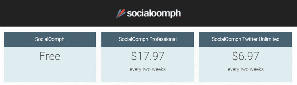 Best Recurring Affiliate Programs - Socialoomph