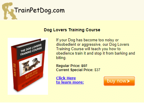 Best Recurring Affiliate Programs - TrainPetDog