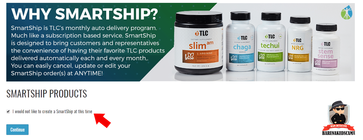 How to Join Total Life Changes - SmartShip