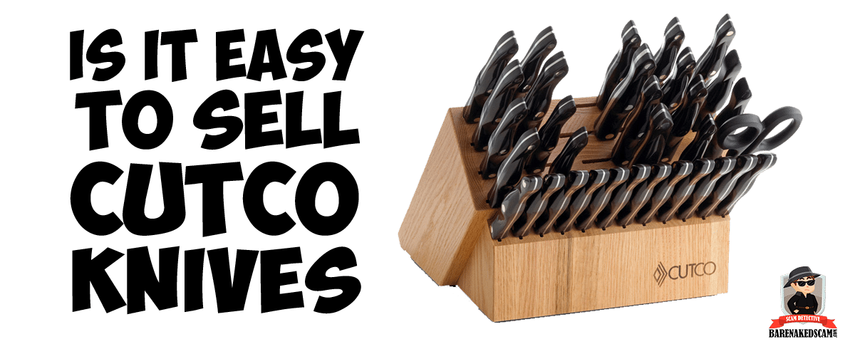 Is it easy to sell Cutco Knives