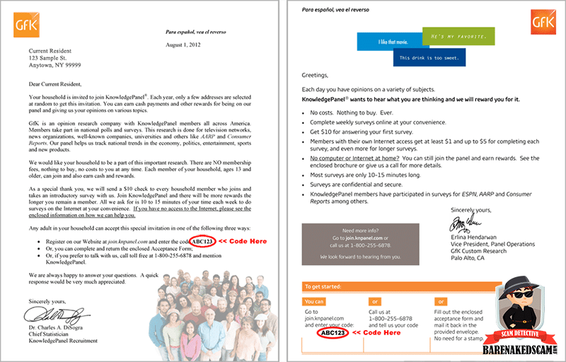Knowledge Panel Review - Sample Invitation